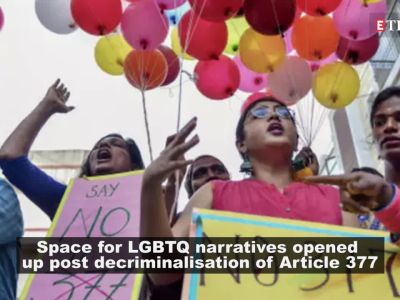 Filmmakers are reworking the roles of LGBTQ community post decriminalisation of Article 377