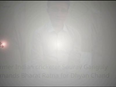 Former Indian cricketer Sourav Ganguly demands Bharat Ratna for Dhyan Chand