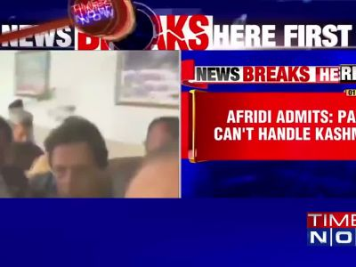 Former Pak international cricketer Shahid Afridi passes controversial statement on Kashmir