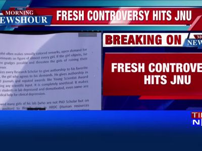 Fresh controversy hits JNU, nine students allege harassment by professor