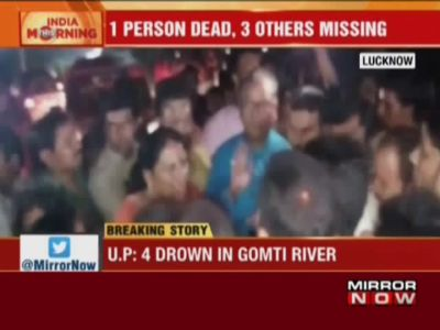 Ganesha idol immersion: Four youths drown in Gomti river in Lucknow