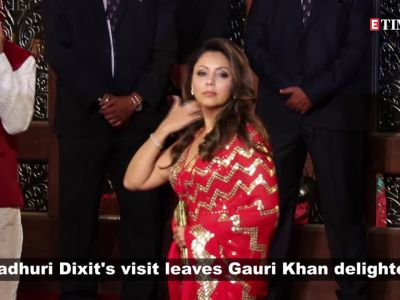 Gauri Khan declares herself 'die hard fan' of Madhuri Dixit