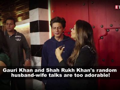 Gauri Khan doesn't allow Shah Rukh Khan to visit restaurants