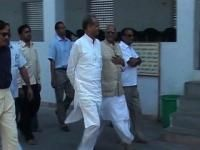 Gehlot visits Choolgiri, inspects developmental work
