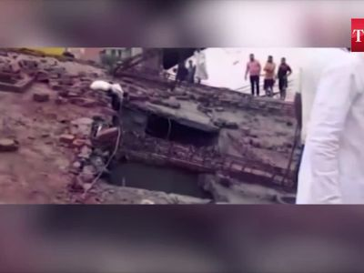 Ghaziabad building collapse: 2 dead, 29 rescued from the site