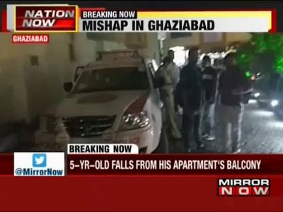 Ghaziabad: Child falls from fifth floor balcony, dies