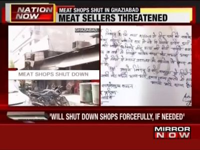 Ghaziabad: Fringe group demands ban on meat sale during Navratri