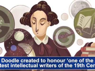 Google honours Scottish scientist Mary Somerville's legacy with a doodle