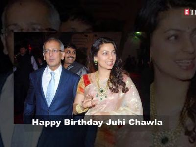 Happy Birthday Juhi Chawla: Enchanting photos of the former diva
