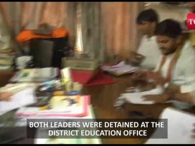 Hardik Patel, Alpesh Thakor detained in Ahmedabad