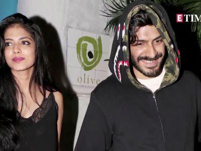Harshvardhan Kapoor spotted post dinner date with Malavika Mohanan