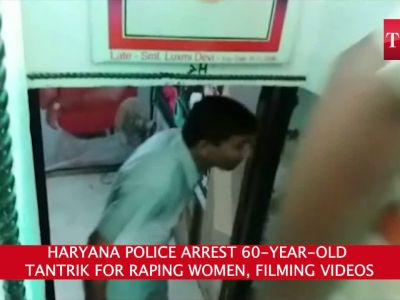 Haryana police arrest 60-year-old tantrik for raping women, filming videos