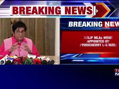 HC upholds nomination of three BJP MLAs by Puducherry LG Kiran Bedi