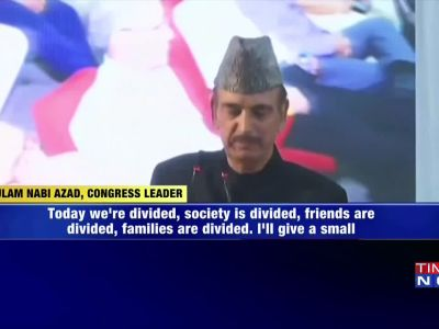 Hindus don't call me for campaigning now: Ghulam Nabi Azad