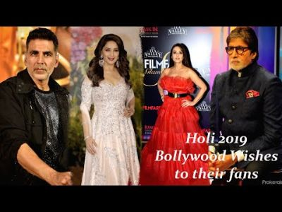 Holi 2019, Watch  B Town sends out colourful wishes to fans
