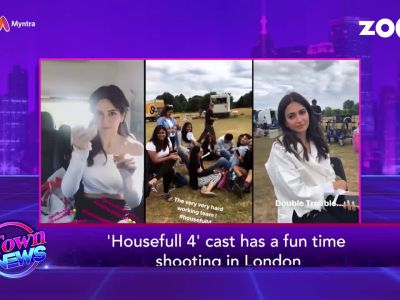 'Housefull 4' team having fun on sets, glimpse of Shraddha's family vacation, and more