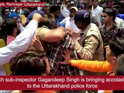 How this Uttarakhand cop risked his life to save a man from mob fury