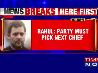 I have already resigned, CWC should decide on my successor: Rahul Gandhi