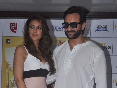Ileana Spotted with Saif on a Coffee Date