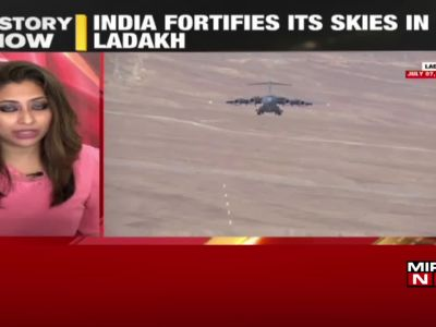 India-China disengagement: Indian Air Force fortifies its skies in Ladakh