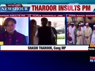India has 'chaiwala' as PM because of Nehru's institutional structures: Shashi Tharoor
