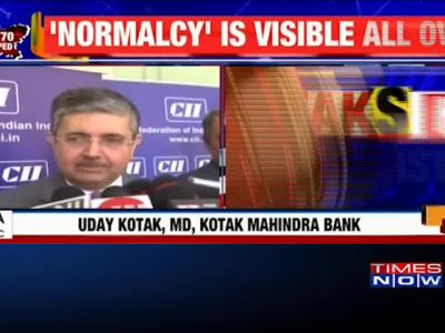 India Inc vows investment in valley: Will provide all facilities to Kashmir, says Uday Kotak
