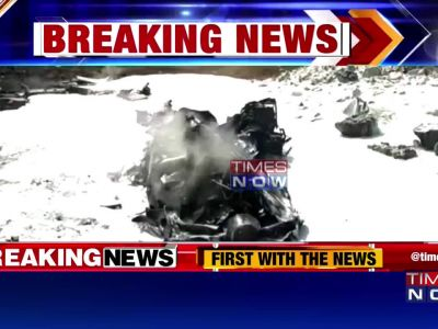 Indian Navy's drone crashes near Porbandar