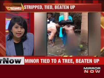 Inhumane: Minor boy stripped, tied to a tree and beaten up in Patna