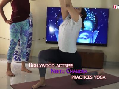 International Yoga Day: Neetu Chandra shows some really hot poses