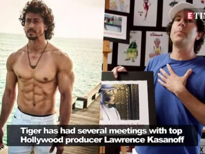 Is Tiger Shroff gearing up for his Hollywood debut?