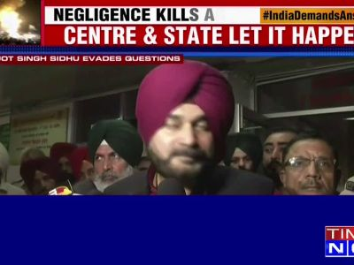 It is an accident, nobody has done it deliberately: Sidhu on Amritsar train mishap