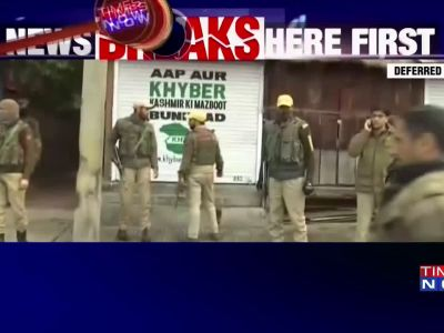 J&K: Three terrorists killed in Srinagar, 1 cop martyred