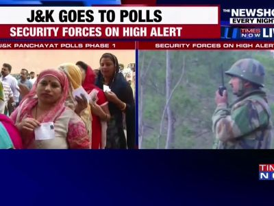 Jammu and Kashmir: Voting underway for first phase of Panchayat polls