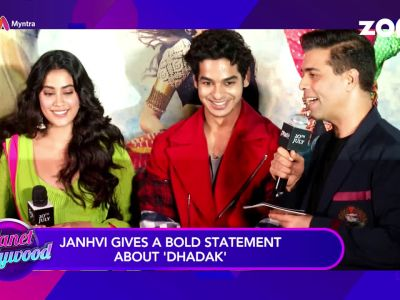 Janhvi Kapoor gives a bold statement about 'Dhadak'