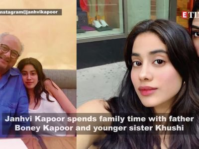 Janhvi Kapoor spends family time in New York, shares adorable pictures with dad Boney Kapoor and sister Khushi Kapoor