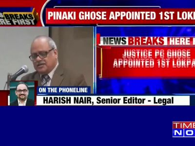 Justice PC Ghose to be India's first Lokpal