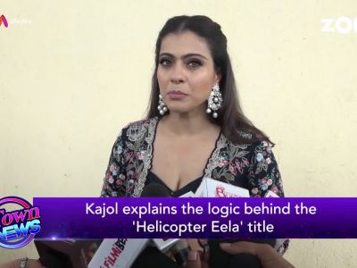 Kajol explains the logic behind 'Helicopter Eela' title
