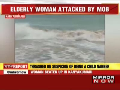 Kanyakumari: Old woman beaten up by mob, threatened with drowning