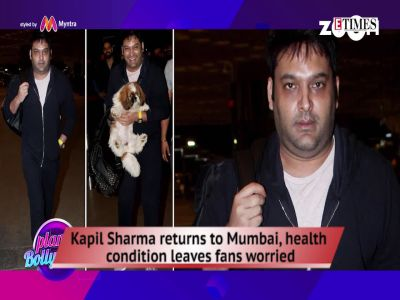 Kapil's shocking look, Rakhi Sawant practices yoga at 40 degree C, and more…