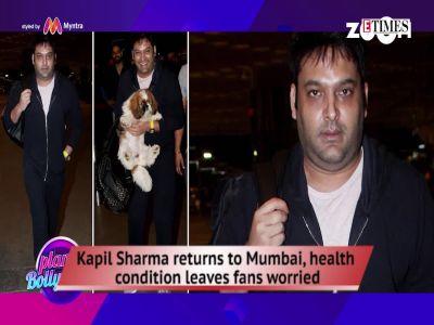 Kapil's shocking look, Rakhi Sawant practices yoga at 40 degree C, and more…
