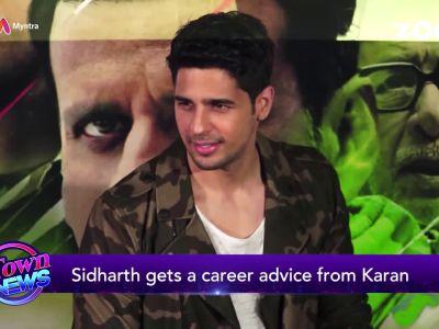 Karan Johar wants Sidharth Malhotra to take up acting workshops!