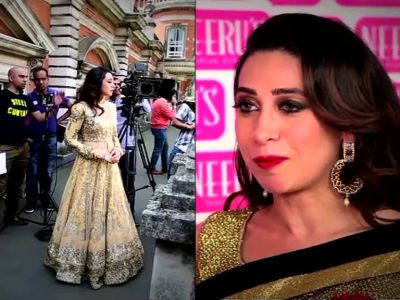 Karisma shoots at University of London