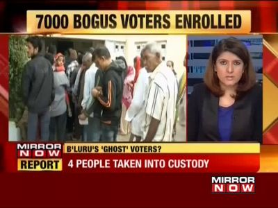 Karnataka polls: 7,000 fake names added to voter list, 4 people taken into custody