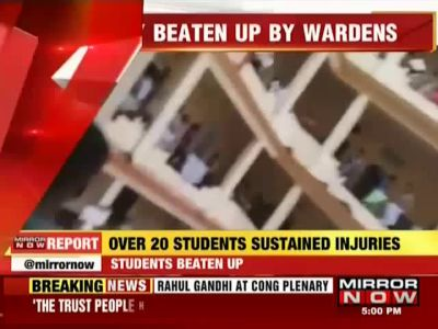 Karnataka: Students protest against wardens at Alva's College