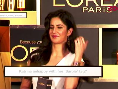 Katrina Kaif unhappy with her 'barbie' tag?