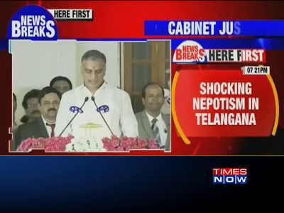 KCR's son and nephew among six new ministers in Telangana cabinet