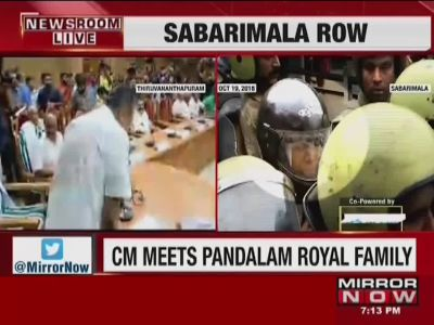 Kerala CM calles for all-party meeting on Sabarimala Temple row