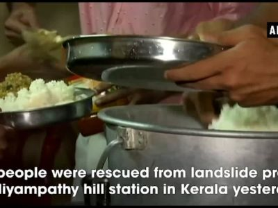 Kerala floods: 35 people rescued from landslide hit Nelliyampathy