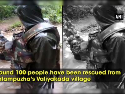 Kerala floods: Indian Army constructs 35-feet long bridge, rescues 100 people in Malampuzha's Valiyakada village