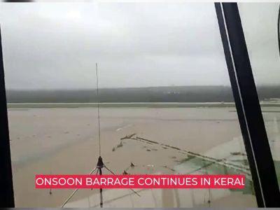 Kerala Floods: Rains continue, Kochi Airport remains flooded